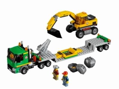 Купить Лего 4203 Экскаватор и транспортер 4203 - Фото_1.