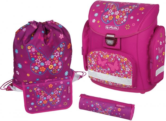 Школьные ранцы и рюкзаки herlitz купить расстегивается шнурок на рюкзаке