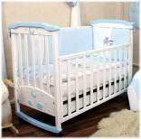 Детская кроватка Верес Соня ЛД 2 с аппликацией, в ассорт.