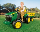 Трактор с прицепом John Deere Ground Force Peg-perego, OR 0047