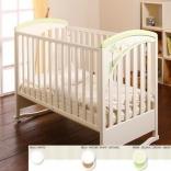 Детская кроватка Lip Poljcane Zoja White Natural