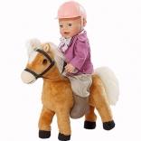 Интерактивная игрушка Zapf ПОНИ лошадка для куклы BabyBorn