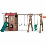 Игровой комплекс горка с домиком и качелями ADVENT LODGE PLAY, STEP 2, 801400