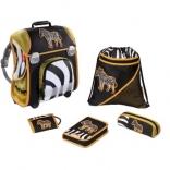 Школьный ранец Zebra Step by Step, Hama, 2 замка, 5 предм., 24433