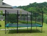 Квадратный батут Kidigo 457х305 см с защитной сеткой, BT457-305