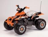 Квадроцикл Peg-perego T-REX (черно-оранжевый), OR 0066