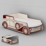 Кроватка-машинка Ретро 380 из серии Париж Эдисан