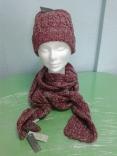 Комплект вязанный (шапка и шарф) Mexx, размер 56-58 см