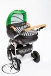 Универсальная коляска Dada Paradiso Group Carino New 2 в 1, в ассорт.