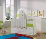 Детская кровать-трансформер Vesna LANAMI, в ассорт.