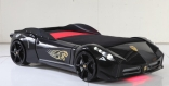 Кровать машина Ferrari F1 Black (черная), Titi Racer