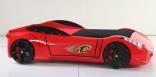 Кровать машина Ferrari F1 Red (красная), Titi Racer
