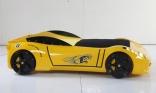 Кровать машина Ferrari F1 Yellow (желтая), Titi Racer