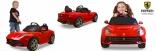 Электромобиль Ferrari F12 Rastar красный, 81900