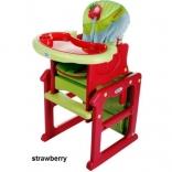 Стульчик для кормления трансформер 4 Baby Fruity, в ассорт.