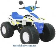 Квадроцикл Big Beach Racer Jet Runner, сине-белый