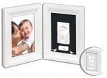 Слепок ручки и ножки Baby Art Print Frame White & Black