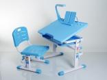 Комплект мебели Mealux BD-01 B, цвет голубой с аксессуарами