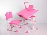 Комплект мебели Mealux BD-01P, цвет розовый с аксессуарами