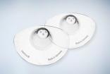 Защитные накладки силиконовые для сосков округлой форми Mamivac, размер L (2 шт)
