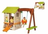 Дом Винни Сладкие мечты с горкой и качалкой, Smoby, 310463