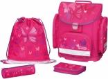 Школьный ранец с аксессуарами Herlitz Midi Plus Pink Butterfly