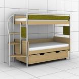 Двухъярусная кроватка Эдисан DJ-L-03
