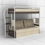 Двухъярусная кровать Эдисан DJ-L-01, в ассорт.