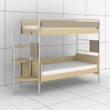 Двухъярусная кроватка Эдисан DJ-L-02