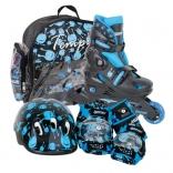 Раздвижные роликовые коньки Tempish Baby Skate Ufo, black, 26-26, 30-33, 34-37, 1000000004/bl.