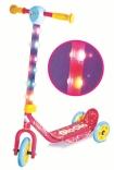 Скутер-самокат Hy-Pro Glo Glo со светом, розовый