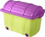 Ящик для игрушек на колесиках Prima baby, в ассорт.