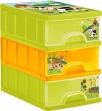 Ящик для игрушек с ящиками Prima baby Funny Farm