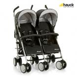 Коляска-трость для двойни Hauck Torro Duo Black, 6557