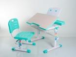 Стол и стул Mealux BD-03G (без аксессуаров) зеленый