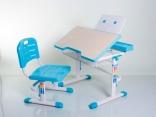 Стол и стул Mealux BD-03B (без аксессуаров) голубой