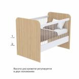 Детская кроватка Briz (Бриз) Акварели без ящика, Кв-50