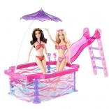 Гламурный бассейн Барби Barbie BDF56