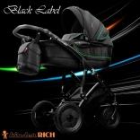 Универсальная коляска KINDER RICH Black Label, в ассорт.