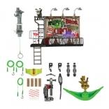 Игровой набор Черепашек Ниндзя TMNT Экстремальный спуск Сражение на рекламном щите