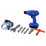 Игровой набор инструментов с машинкой Поли Robocar Poli Silverlit, 83030