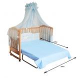 Детская кроватка Веселка Ванесса-трансформер, в ассорт.