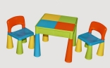 Столик та два стульчика Tega Mamut, в ассорт.