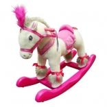 Чудокачалка Kiddieland Пони принцессы: 2в 1 (съемные полозья, колеса, звук), 038067