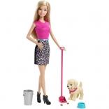 Набор Barbie Веселая прогулка с любимцем CFN43