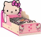 Детская кровать Хелло Китти