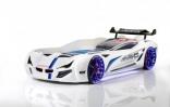 Кровать-машина Gencecix Bmw M6 белая
