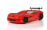 Кровать-машина Gencecix Thunder красная