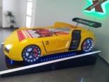Кровать-машина Gencecix Аudi V8 желтая