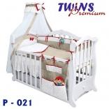 Постельный комплект Twins Premium 8 элемент, в ассорт.